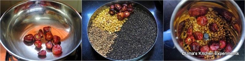 How to make sesame seeds powder Step2