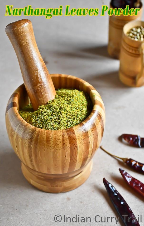 Narthangai-Leaves-Powder-1